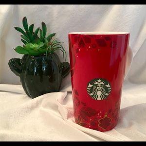 2013 Starbucks 16 Oz Ceramic Holiday Coffee Mug